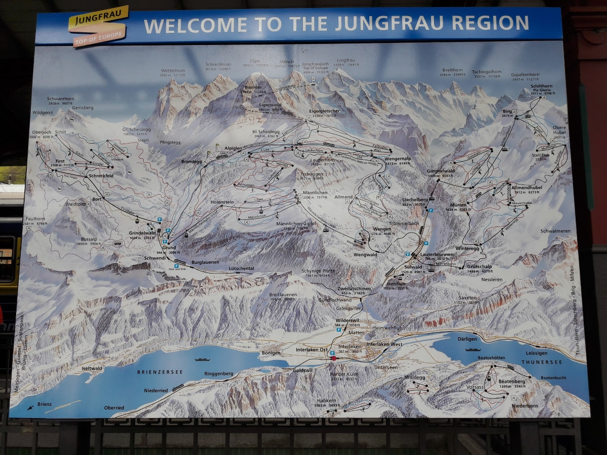 Jungfraujoch - Top of Europe, meine Faszination